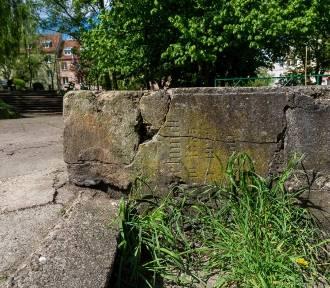 Ślady przeszłości Szczecina można znaleźć w murkach [ZDJĘCIA]
