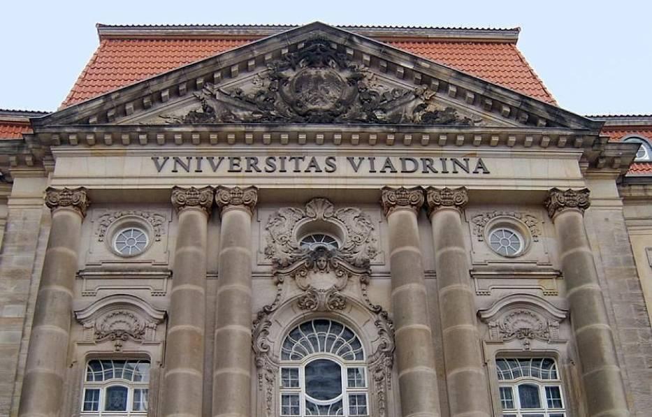 Logo Europejskiego Uniwersytetu Viadrina