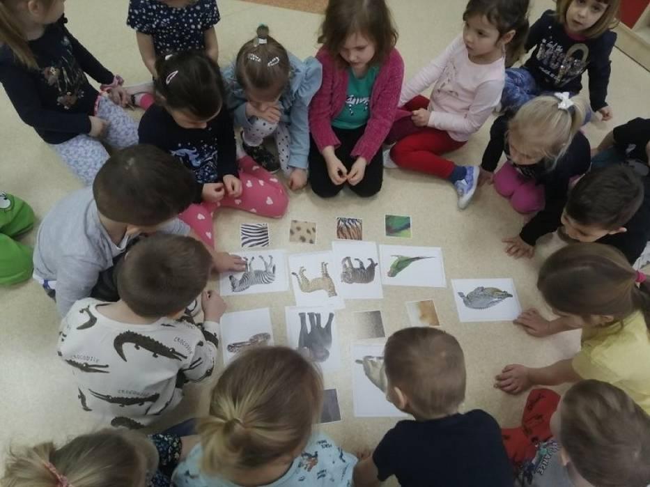 Przedszkolaki ze Staszowa poznawały dzikie zwierzęta. Dobra zabawa połączona z nauką (ZDJĘCIA)