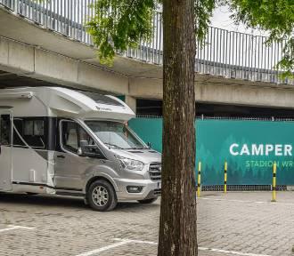 Zaparkuj swojego kampera na Stadionie Wrocław i zwiedzaj miasto. Zobacz!