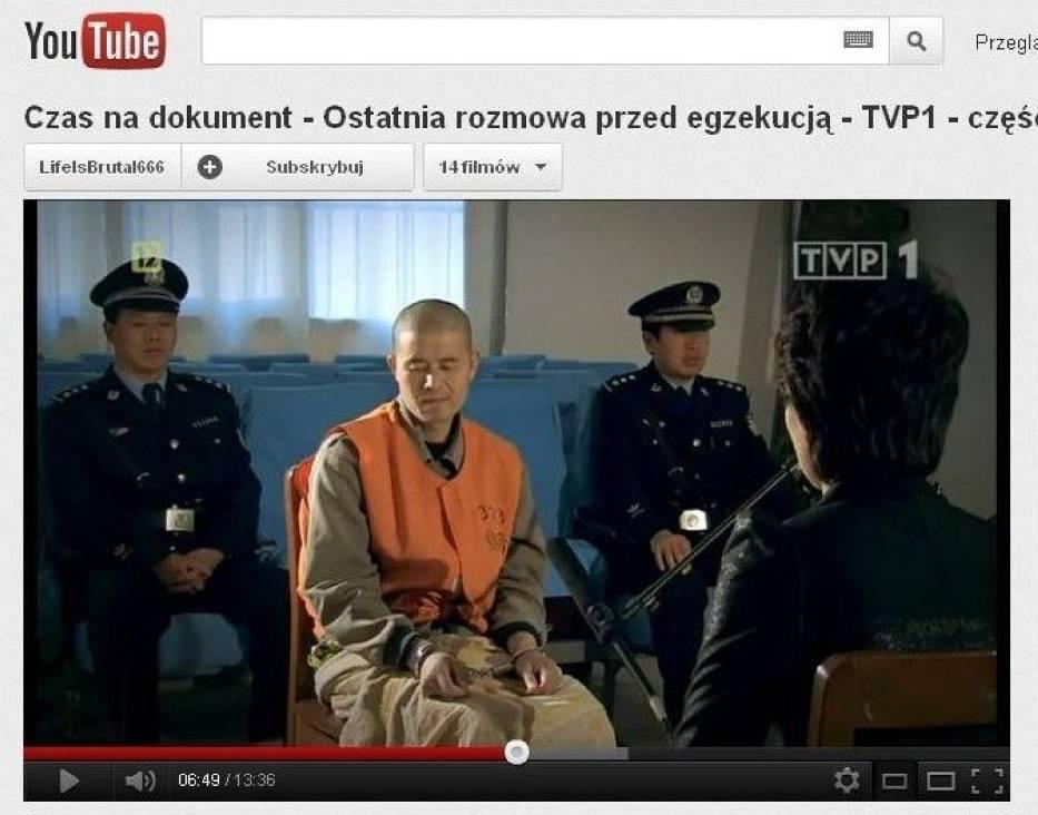 """Fragment jednego z programów """"Interviews Before Execution"""""""