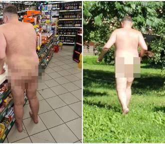 Nagi prokurator spacerował po Świdnicy. Poszedł nawet do sklepu [ZDJĘCIA]