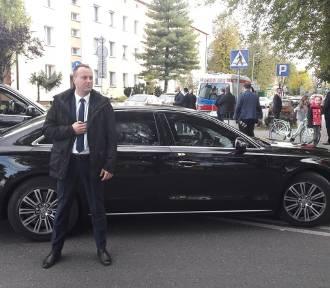 Wypadek kolumny z Andrzejem Dudą
