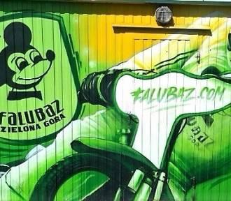 Falubaz jest wszędzie. Piękne graffiti i niedbałe bazgroły