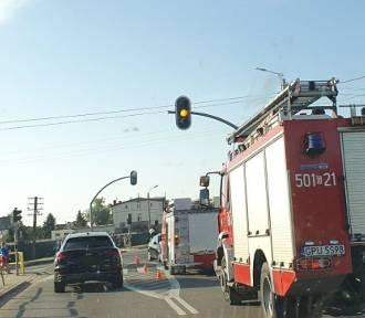 Sygnalizacja świetlna w Łebczu: ruszą dopiero po wakacjach
