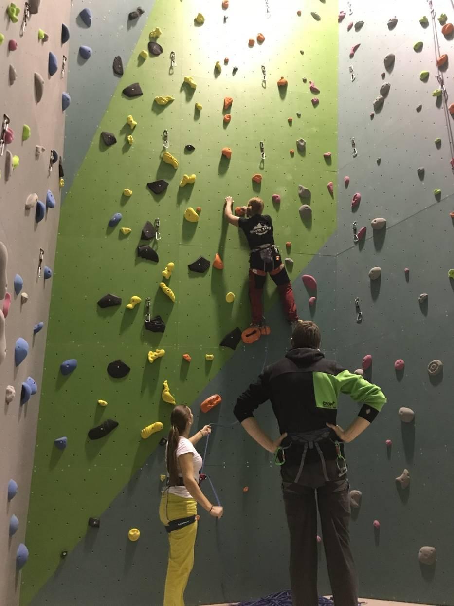 Ścianka wspinaczkowa w Woli Podłężnej