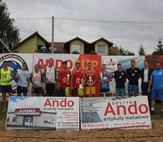 Turniej siatkówki w Cichowie