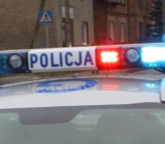 Wypadek samochodowy w Brzeszczach