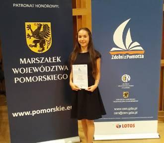 Weronika Wojak z Karsina znalazła się w trójce najlepszych z Pomorza