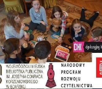 Pruszcz Gd.: Dzieci podczas Dyskusyjnego Klubu Książki rozmawiały o opowiadaniach Jędrzejewskiej.