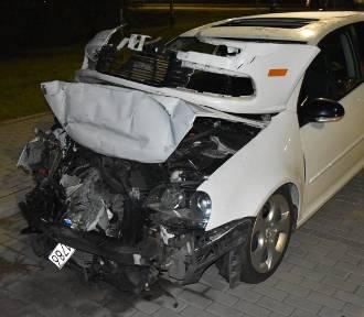 Policjant z kartuskiej komendy spowodował wypadek na ul. Wzg. Wolności. Był pijany!