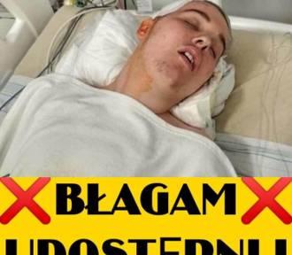 Guz mózgu atakuje Maksyma z Oleśnicy. Pilnie potrzebuje operacji ratującej życie!