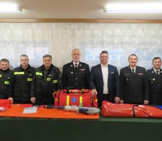 Strażacy ochotnicy dostali nowy sprzęt ratowniczy