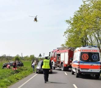 Tragiczny wypadek w gminie Szubin. 4 osoby nie żyją! [zobacz zdjęcia]