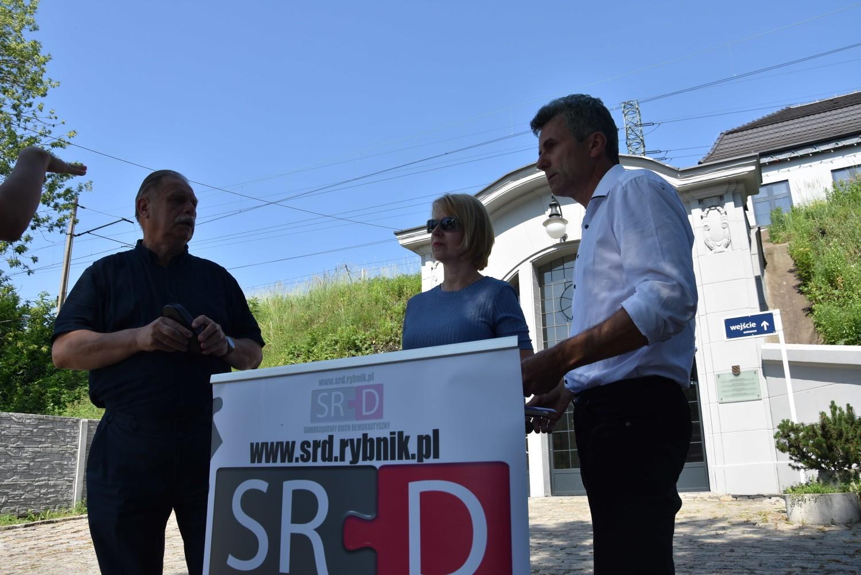 Tadeusz Gruszka: Tunel rowerowy pod dworcem PKP na Paruszowcu będzie najdroższy w Polsce. Rozbiorą dobry chodnik na Raciborskiej