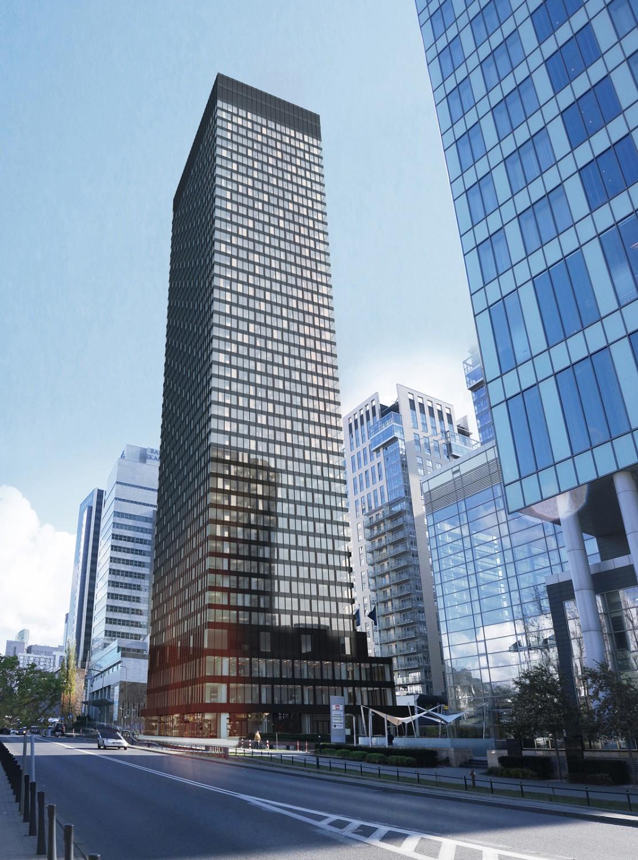 Tak wyglądał pierwszy projekt budowy wieży, z 2014 roku