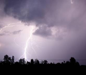 Ostrzeżenie dla Lubuskiego: Burze z gradem, silnym wiatrem, ulewami