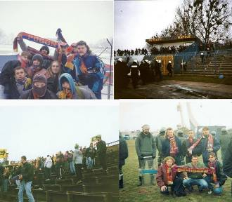 Zobaczcie archiwalne zdjęcia stadionu Pogoni oraz kibiców na Instagramie