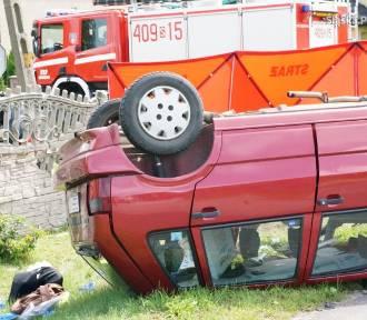 Wypadek w Toporowicach. Wymusiła pierwszeństwo i uderzyła fiatem w hondę. Zginęła 84-latka