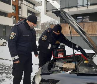Straż miejska z Jarosławia pomoże uruchomić samochód