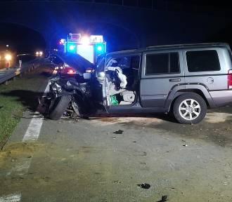 Dzieci ranne w wypadku na autostradzie A2 [ZDJĘCIA]