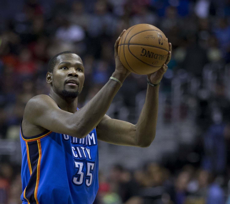 Miejsce 10: Kevin DurantZarobki: 65,4 mln dolarówDyscyplina sportu: koszykówka