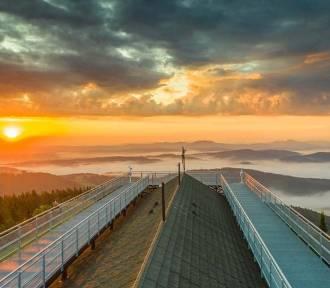 Krynica-Zdrój ma nowy turystyczny HIT. Widok na cztery strony świata!