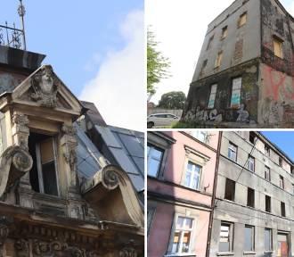 Kamienice w centrach śląskich miast szpecą i grożą zawaleniem