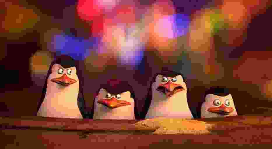 """Kadr z filmu """"Pingwiny z Madagaskaru"""""""