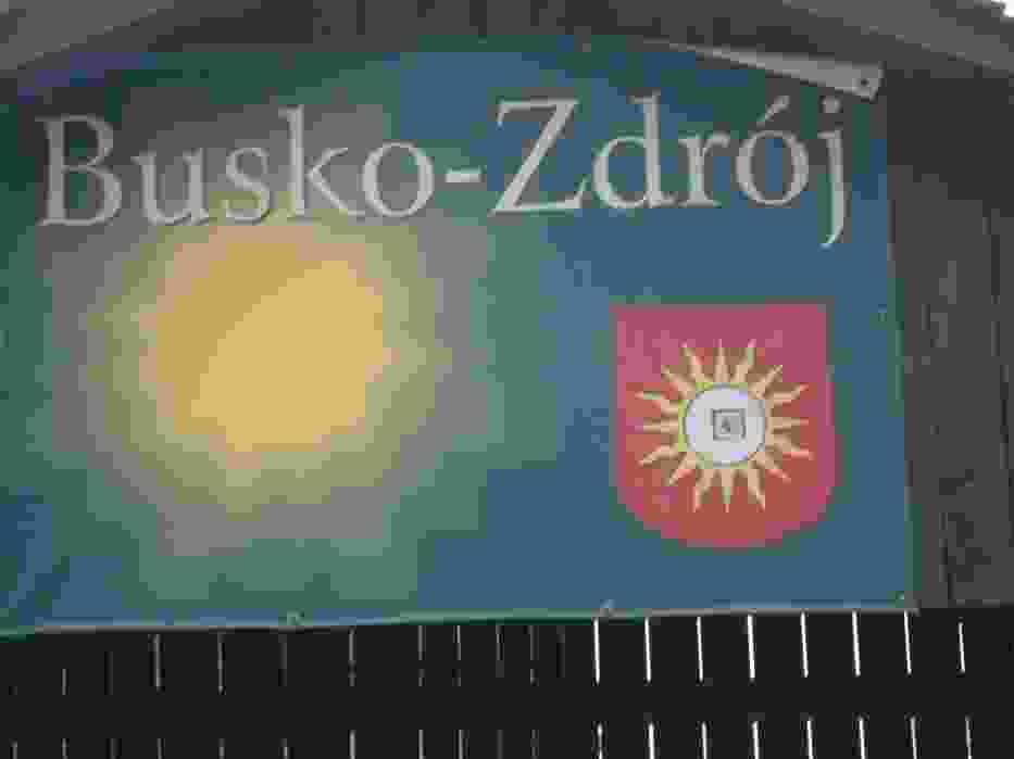 Słoneczko w herbie zaprasza do Buska-Zdroju