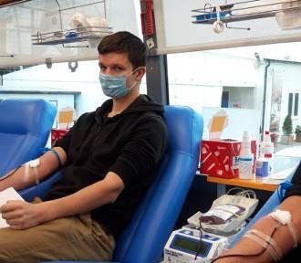 Udana akcja krwiodawstwa na Chmielniku w Kaliszu. ZDJĘCIA