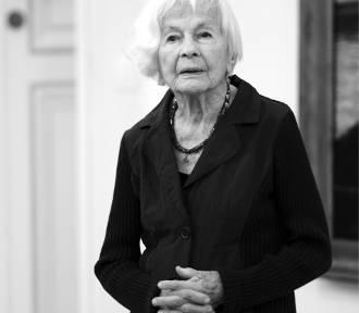 Nie żyje Danuta Szaflarska. W lutym aktorka skończyła 102 lata