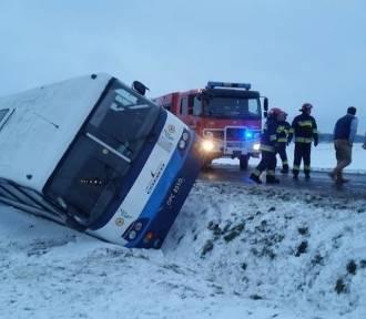 Orkan Fryderyka w Łódzkiem. Sporo wypadków na drogach w regionie