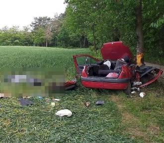 Tragiczny wypadek koło Lublina. Jedna osoba zginęła