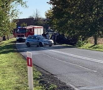 Wypadek na drodze Wrocław - Strzelin. Droga zablokowana