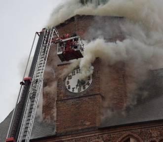 Jest pierwszy wyrok w sprawie pożaru katedry w Gorzowie