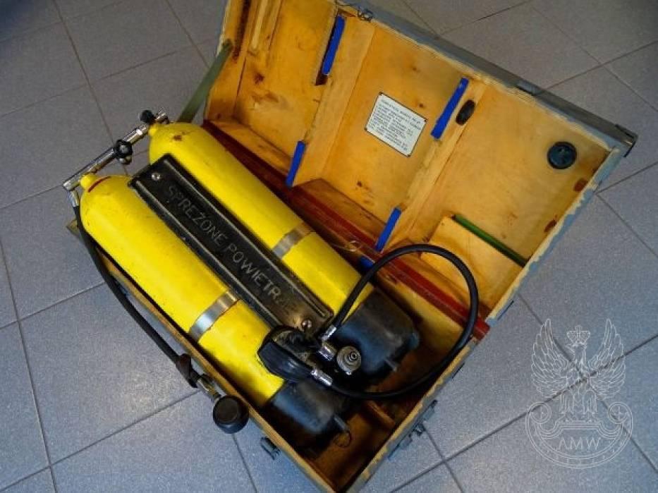 Aparat nurkowy P22/UAN-82, 250 złotychAgencja Mienia Wojskowego regularnie wyprzedaje sprzęt, który ma w magazynach