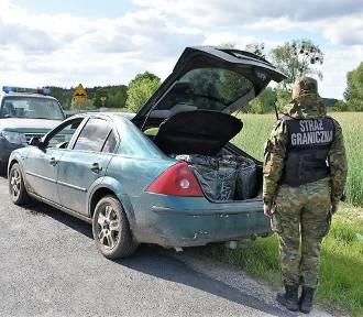 Straż graniczna zatrzymała kolejnych przemytników papierosów