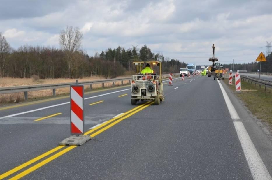 Utrudnienia na gierkówce: trwa budowa autostrady A1 za Częstochową