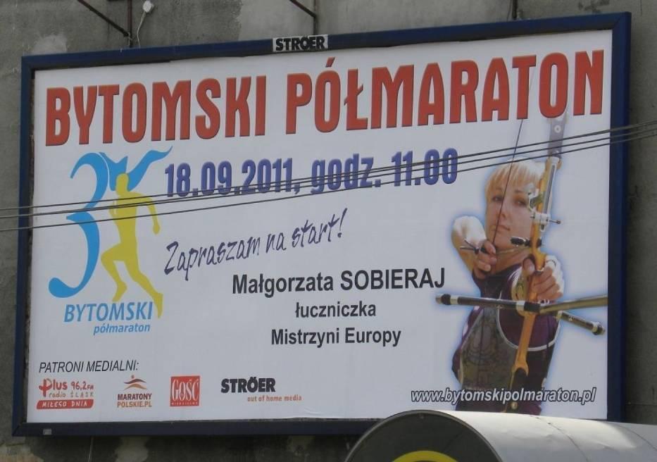 Jeden z plakatów zachęcających do udziału w imprezie