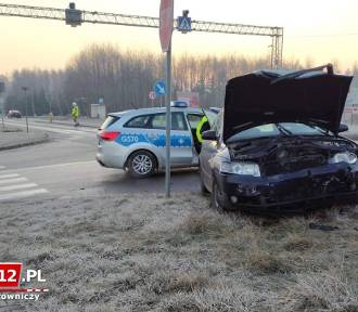 Wypadek na DK 94 między Tarnowem a Brzeskiem [ZDJĘCIA]