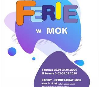 Ferie w MOK Gniezno: zaproszenie dla dzieci w wieku lat 7-14
