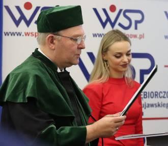 Inauguracja roku akademickiego w Wyższej Szkole Przedsiębiorczości w Inowrocławiu [zdjęcia]