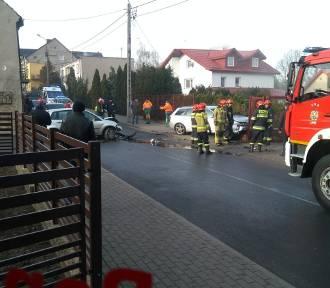 Wypadek w Lipnie na skrzyżowaniu ul. Księżycowej i Kilińskiego