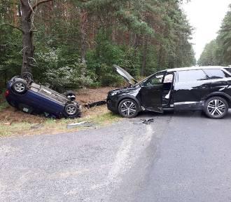 Groźny wypadek na drodze Zbąszyń – Nowy Tomyśl [ZDJĘCIA]
