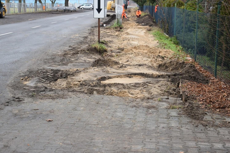 Przebudowa chodnika na ul. Granicznej
