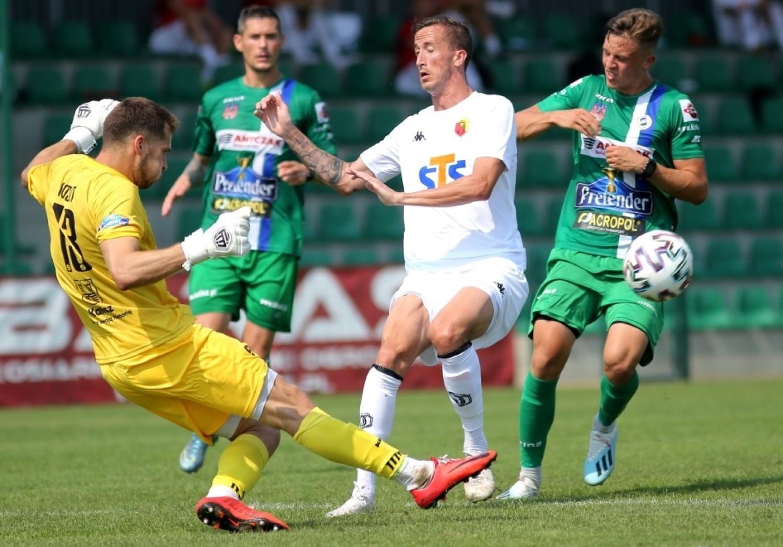 Jagiellonia Białystok - KKS Kalisz 0:0