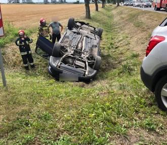 Gm. Stare Pole. Wypadek na drodze krajowej nr 22 [ZDJĘCIA]. Cztery osoby poszkodowane