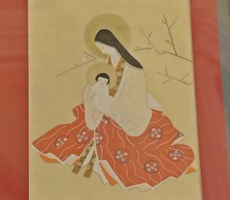 Madonna w kimonie - wystawa malarstwa na jedwabiu z Bazylice Mniejszej w Zduńskiej Woli