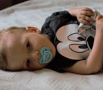 1,5-roczny Olek cierpi na rdzeniowy zanik mięśni. Pomagamy!